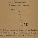 Guillaume Apollinaire, « Fumées », in Calligrammes. Poèmes de la paix et de la guerre (1913-1916), Paris, Mercure de France, 1918, collection Bibliothèque nationale de France, Paris