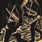 Frans Masereel, sans titre, du portfolio Debout les morts, 1917, gravure sur bois Musée d'Art moderne et contemporain de Strasbourg © Adagp, Paris 2013