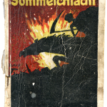 Blank, dessin de couverture pour Friedrich Willy Frerk, Die Sommeschlacht, Hermann Montanus, Siegen-Leipzig, 1916, collection Loïc Beck