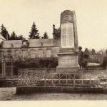 Monument aux morts de Gentioux, Duburgt (sculpteur), carte postale, Pigeroulet (éditeur), années 1930, héliogravure, collection particulière
