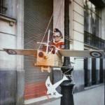 Léon Gimpel, L'aviateur « Pépète » vient d'abattre un « Taube » à coups de mitrailleuse, 19 septembre 1915, autochrome, collection Société française de photographie