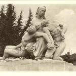 Monument aux morts de la Grande Guerre à Strasbourg, Léon-Ernest Drivier (Sculpteur), 1936, carte postale, Compagnie des Arts Photomécaniques, Strasbourg (éditeur), Bibliothèque Nationale Universitaire, Strasbourg